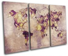 Watercolour  Abstract Maps Flags - 13-6012(00B)-TR32-LO